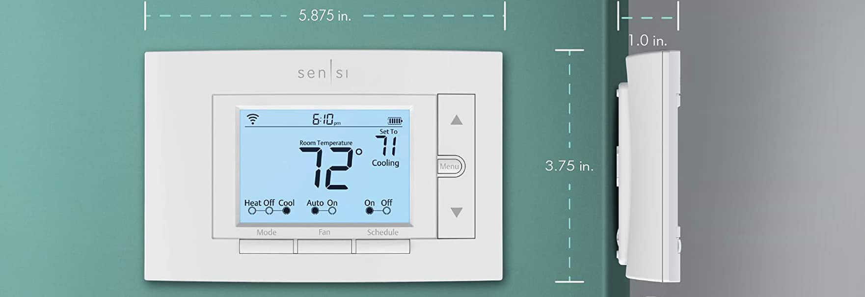 Emerson Sensi Wi-Fi Smart Thermostat Review - Best Programable Thermostat