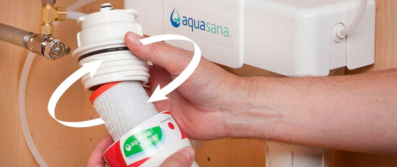 change Aquasana Filters Review