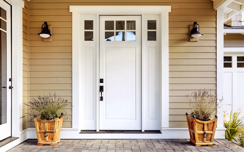 Best Finish for Exterior Fiberglass Door – The Glossy Look Can Be Restored