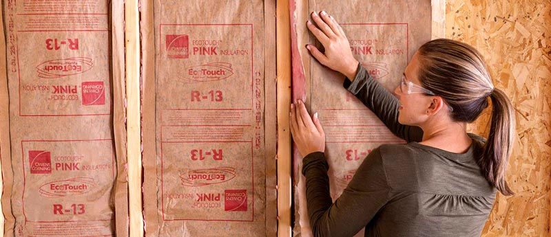 Owens Corning R-13 Faced Insulation Roll Review - Best Insulation for 2x4 Walls