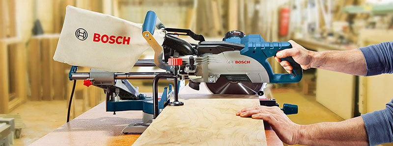 Bosch CM8S Sliding Compound Miter Saw - Best 8 1/2 Sliding Miter Saw Review