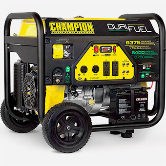 Tools to Have in Workshop - Champion-Dual-Fuel-Portable-Generator
