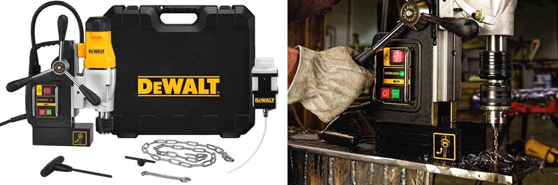 DEWALT Drill Press, 2-Speed, Magnetic, 2-inch (DWE1622K) - Best drill press for metal Review