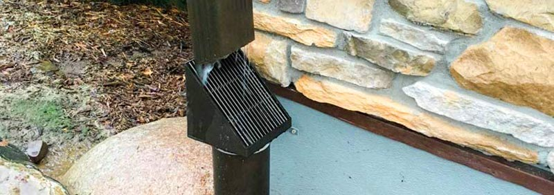 Waterproof Downspout Debris Filter - Downspout Filter Review