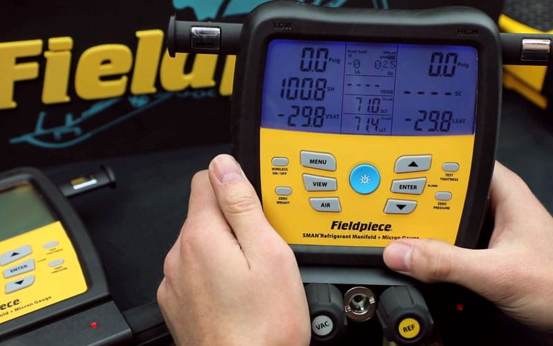 Fieldpiece SM480V SMAN Review: Best tool for HVAC repair professionals