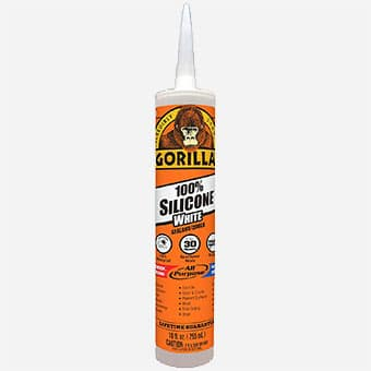 Tools to Have in Workshop - Gorilla-Silicone-Sealant-Caulk-Waterproof