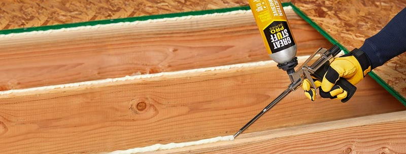 Great Stuff 343087 PRO 26.5-Ounce Construction Adhesive - Best Subfloor Adhesive