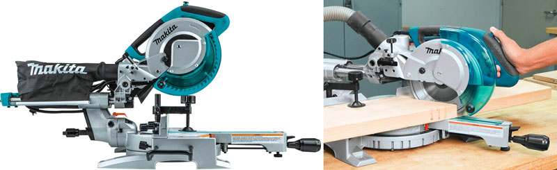 Makita LS0815F Slide Compound Miter Saw - Best 8 1/2 Sliding Miter Saw Review