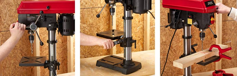 SKIL 3320-01 3.2 Amp 10-inch Drill Press - Best drill press for metal Review