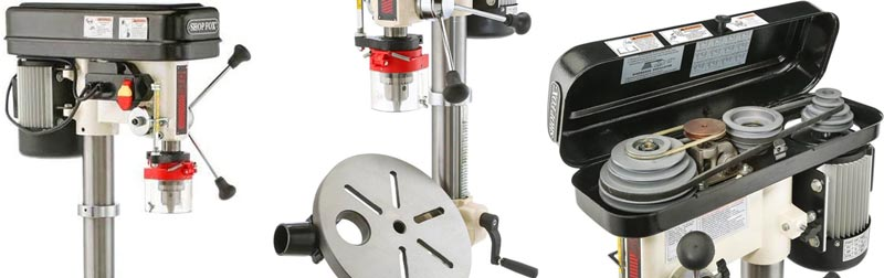 Shop Fox W1848 Oscillating Floor Drill Press - Best drill press for metal Review
