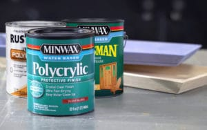 best clear coat over latex paint