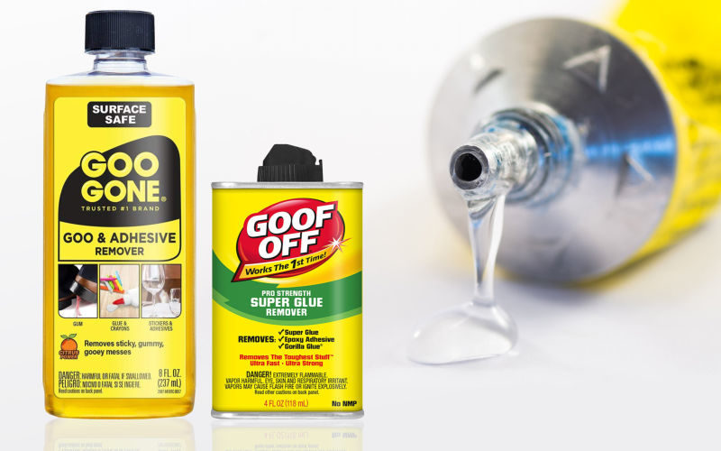 Goo Gone vs Goof Off – Buyer's Guide